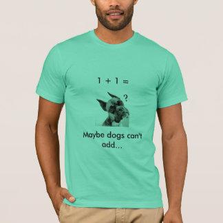 Camiseta Matemática do cão