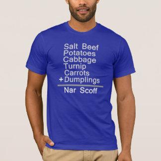 Camiseta Matemática do comensal de Jiggs = Scoff do NAR