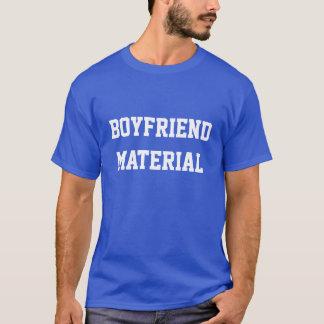Camiseta Material do namorado