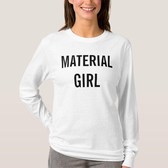 Camiseta Material Girl