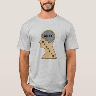 Camiseta Matérias cinzentas