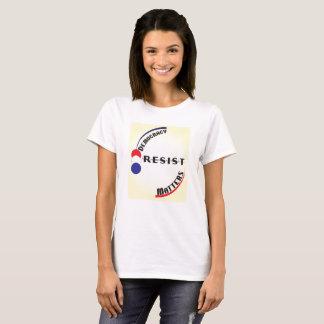 Camiseta Matérias da democracia