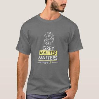 Camiseta Matérias da matéria cinzenta