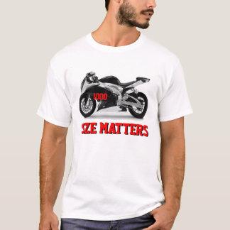 Camiseta Matérias do tamanho