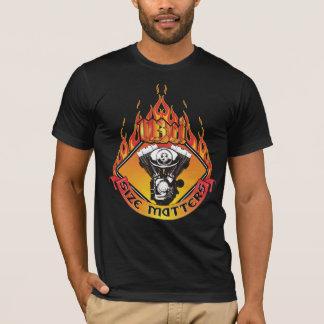 Camiseta Matérias do tamanho - 113 polegadas cúbicas