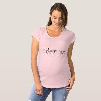 Camiseta Maternidade cristã inspirada das citações sobre o