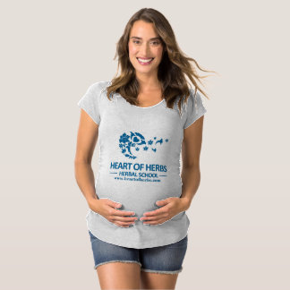 Camiseta Maternidade erval T da escola