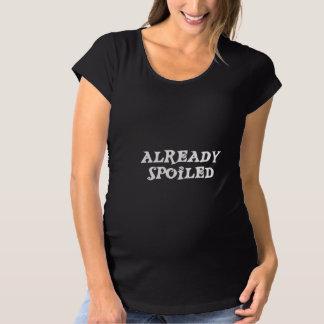 Camiseta Maternidade já estragada