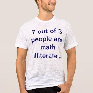 Camiseta maths iletrados