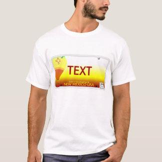 Camiseta Matrícula do nanômetro