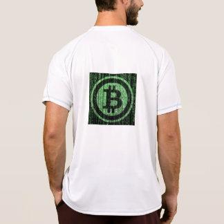 Camiseta Matriz de Bitcoin