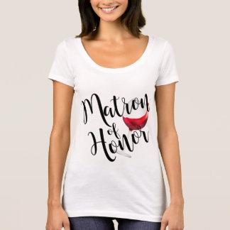 Camiseta Matrona do vinho da honra
