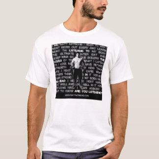 """Camiseta Matt Mitrione """"vozes em meu"""" t-shirt principal"""