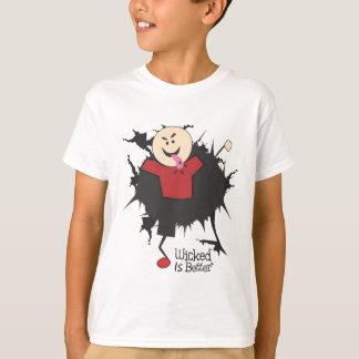 Camiseta Mau é melhor - Willy