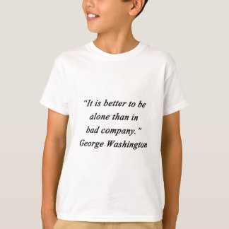 Camiseta Mau Empresa - George Washington
