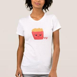 Camiseta Mau mas batatas fritas de Kawaii