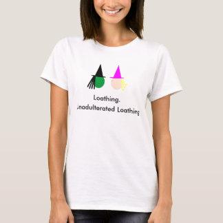 Camiseta Mau: T-shirt de repugnância nãoo adulterado