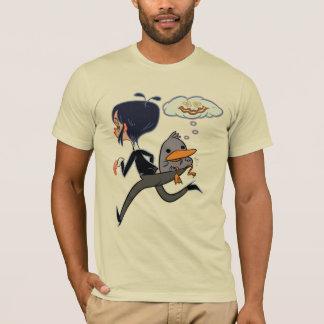 Camiseta Maude e o pato mudo mudo continuam