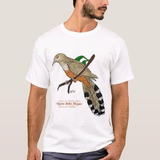 Camiseta Mayor de Pájaro Bobo/Cuco porto-riquenho