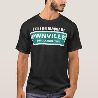 Camiseta Mayor de Pwnville