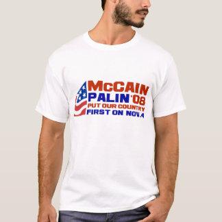 Camiseta McCain & Palin