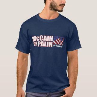 Camiseta McCain Palin 'camisa de 08 T