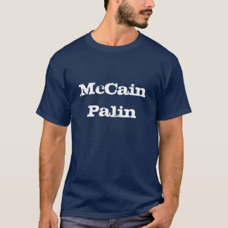 Camiseta McCain Palin Steers&Stripes