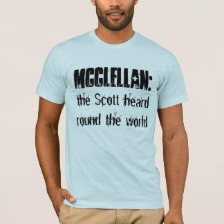 Camiseta McClellan:  o Scott ouviu-se em volta do mundo