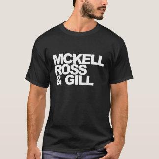 Camiseta Mckell Ross & brânquia - t-shirt da excursão