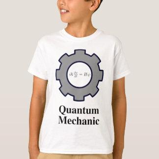 Camiseta mecânico de quantum, equação de Schrodinger