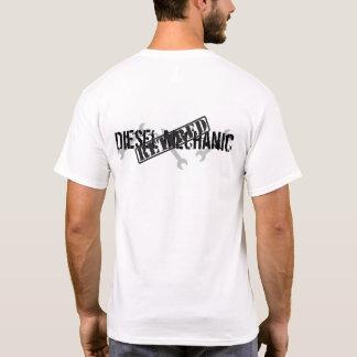 Camiseta Mecânico diesel aposentado