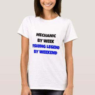 Camiseta Mecânico pela legenda da pesca da semana em o fim