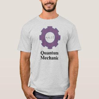 Camiseta mecânicos, parte dianteira e parte traseira de