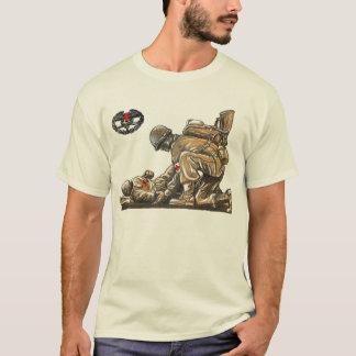 Camiseta Médico do combate - estabeleça vida
