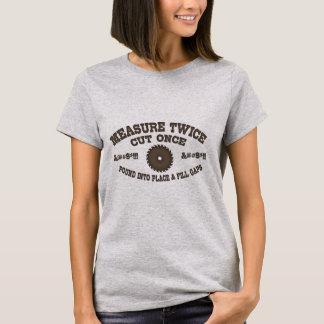 Camiseta Medida duas vezes -617