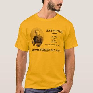 Camiseta Medidor de gás (Ambrose Bierce o dicionário do