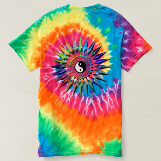 Camiseta Meditação colorida Tao da ioga calma do zen de Yin