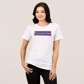 Camiseta Medo dos fatos não
