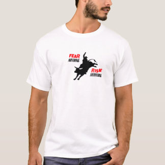 Camiseta Medo nada risco tudo