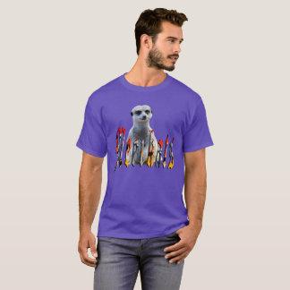 Camiseta Meerkat com logotipo de Meerkats,