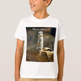Camiseta Meerkat Humours o t-shirt