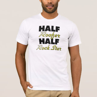 Camiseta Meia estrela do rock do meio Roofer
