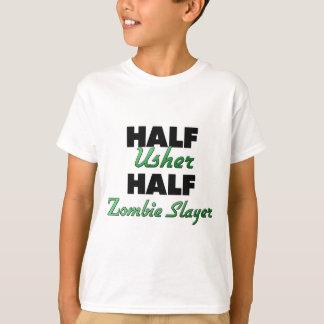 Camiseta Meio assassino do zombi de Usher meio