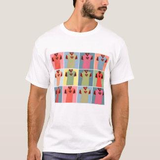 Camiseta Meio biscoito do meio homem - t-shirt de Dukla