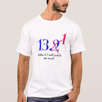 Camiseta meio design engraçado do t-shirt da maratona