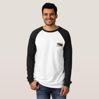 Camiseta Meio do adulto do menino da estante