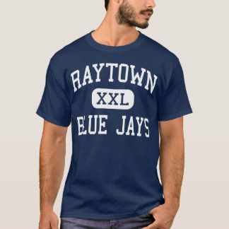 Camiseta Meio Kansas City de Raytown Blue Jays