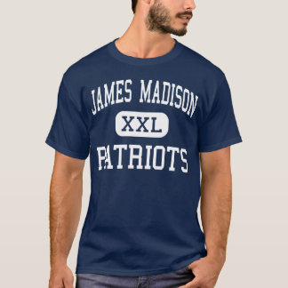 Camiseta Meio Madisonville dos patriotas de James Madison