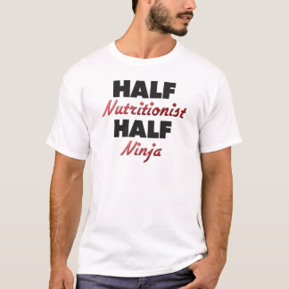 Camiseta Meio nutricionista meio Ninja