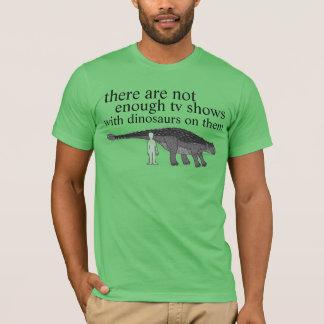 Camiseta meios do dinossauro